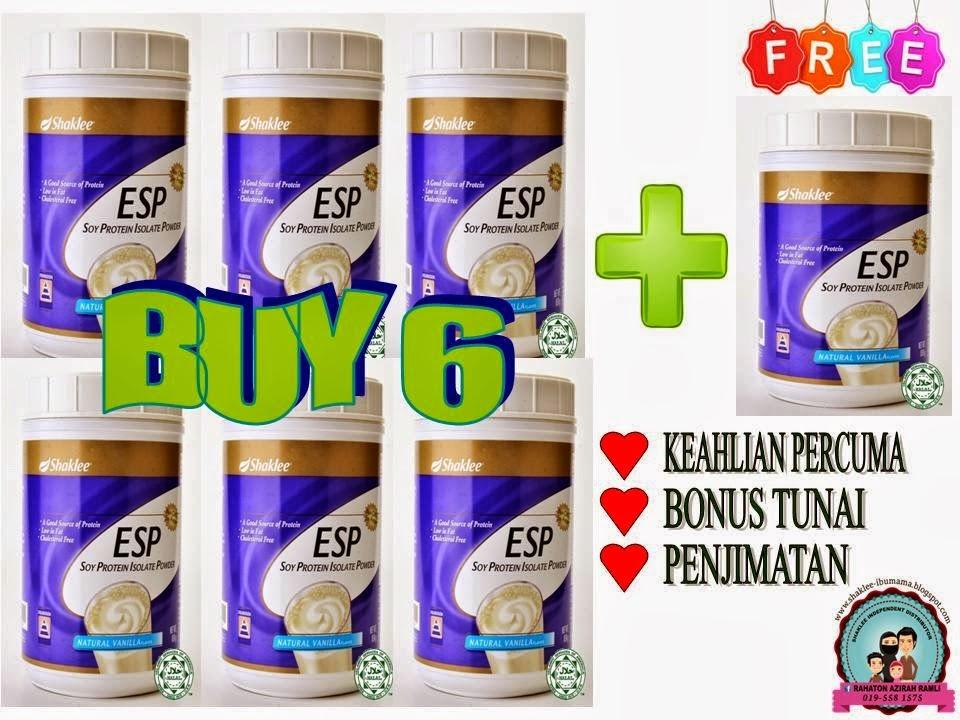 Promosi ESP Soy Protein Shaklee 2015