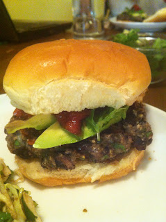 The Bungalow Kitchen: Black Bean and Pepper Jack Burgers