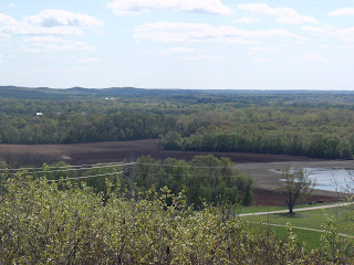 View from Bald Bluff Scenic Overlook & Natural Area