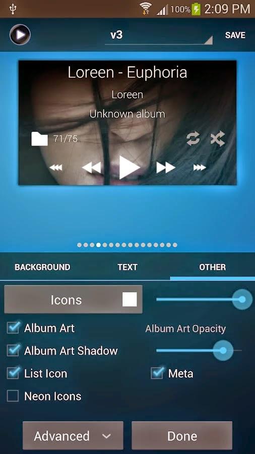 Poweramp Music Player v2.0.9-build-v564