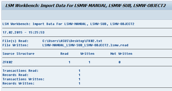 sap lsmw This is the second part of my blog about lsmw migration with idoc method the first part can be found here: lsmw migration with idoc method and using idoc as source part1: extract by ale the business case: data migration with sap as legacy system many companies use already sap for several years.