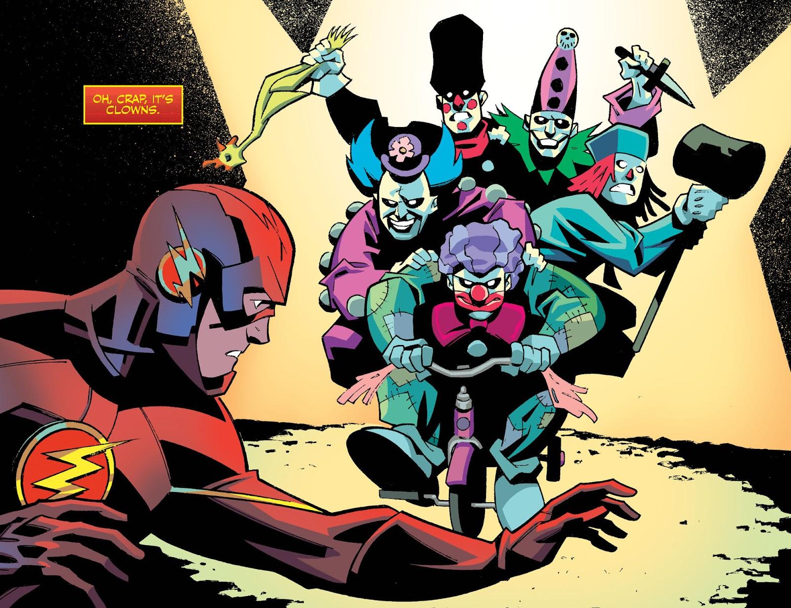 The Flash: Season Zero [I] Issue #4 #4 - English 8