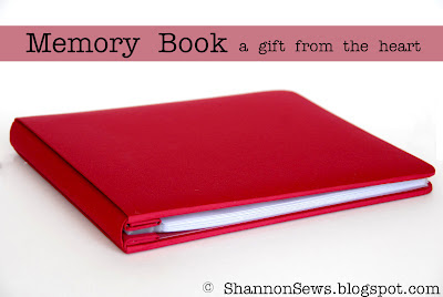 Great gift idea on a budget to compile thoughts, memories and advice for someone you love