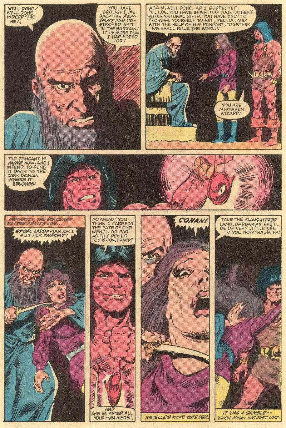 Conan the Barbarian (1970) Issue #139 #151 - English 21
