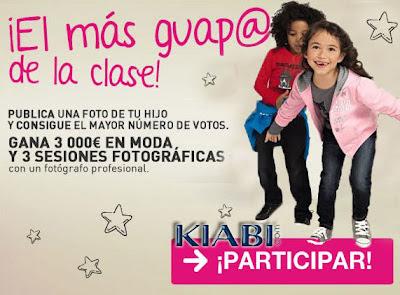 Concurso kiabi el mas guapo de la clase gana 3000 Euros
