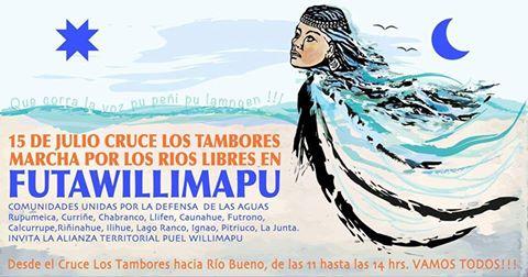 FUTAWILLIMAPU: MARCHA POR LOS RÍOS LIBRES