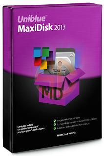 serial Uniblue MaxiDisk 2013 1.0.3.10 Full