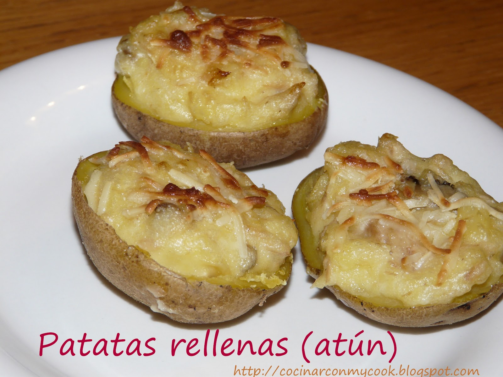 Cocinar con mycook patatas rellenas at n for Cocinar repollo con patatas
