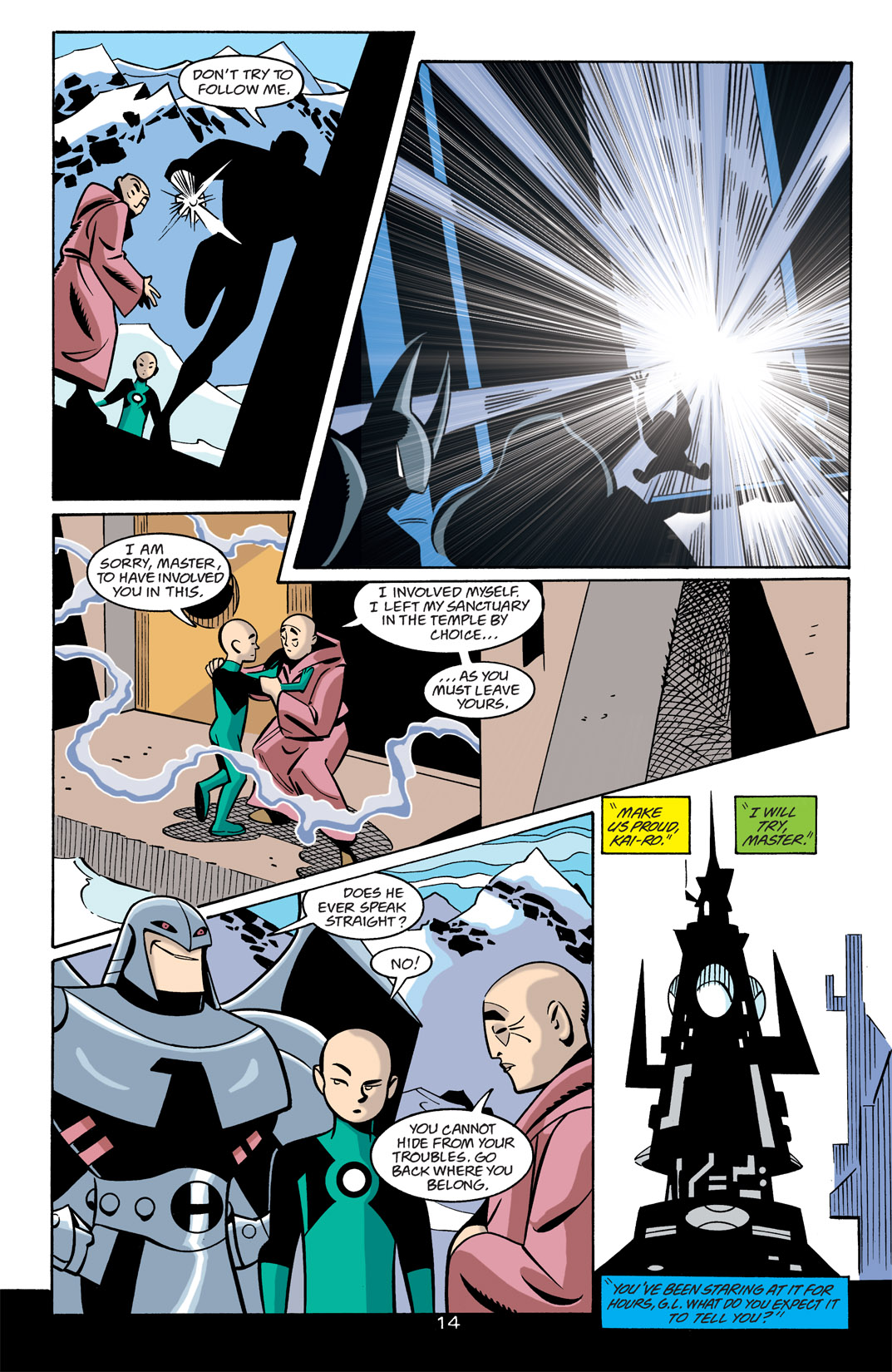 Batman Beyond [II] Issue #22 #22 - English 15