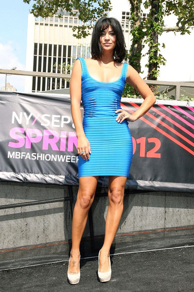 Jessica Szohr - The Spring 2012 Mercedes-Benz Fashion Week