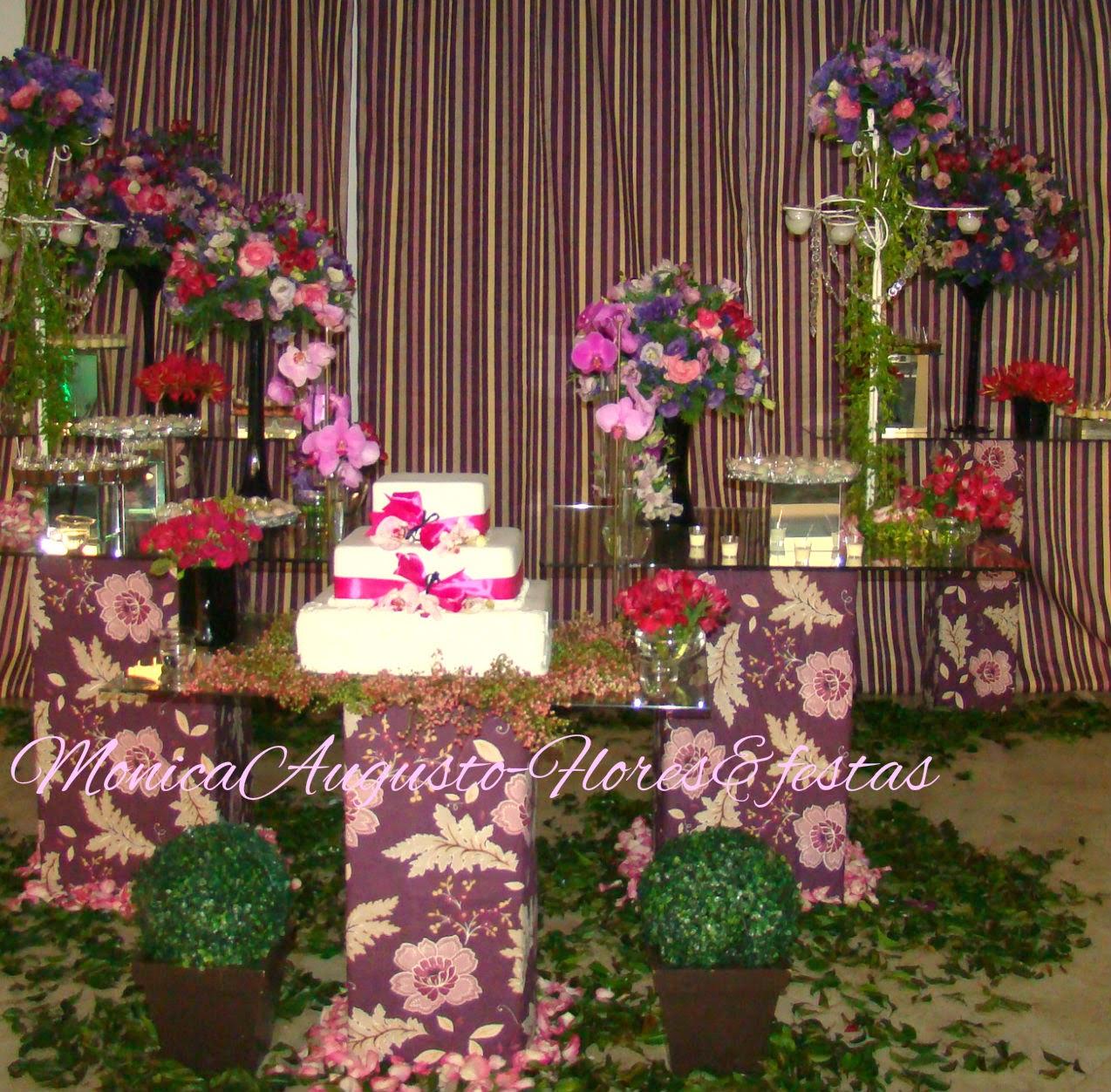 Festa roxo+lilas+rosa
