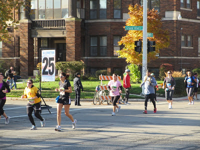 Detroit Free Press Marathon 2012 near Belle Isle