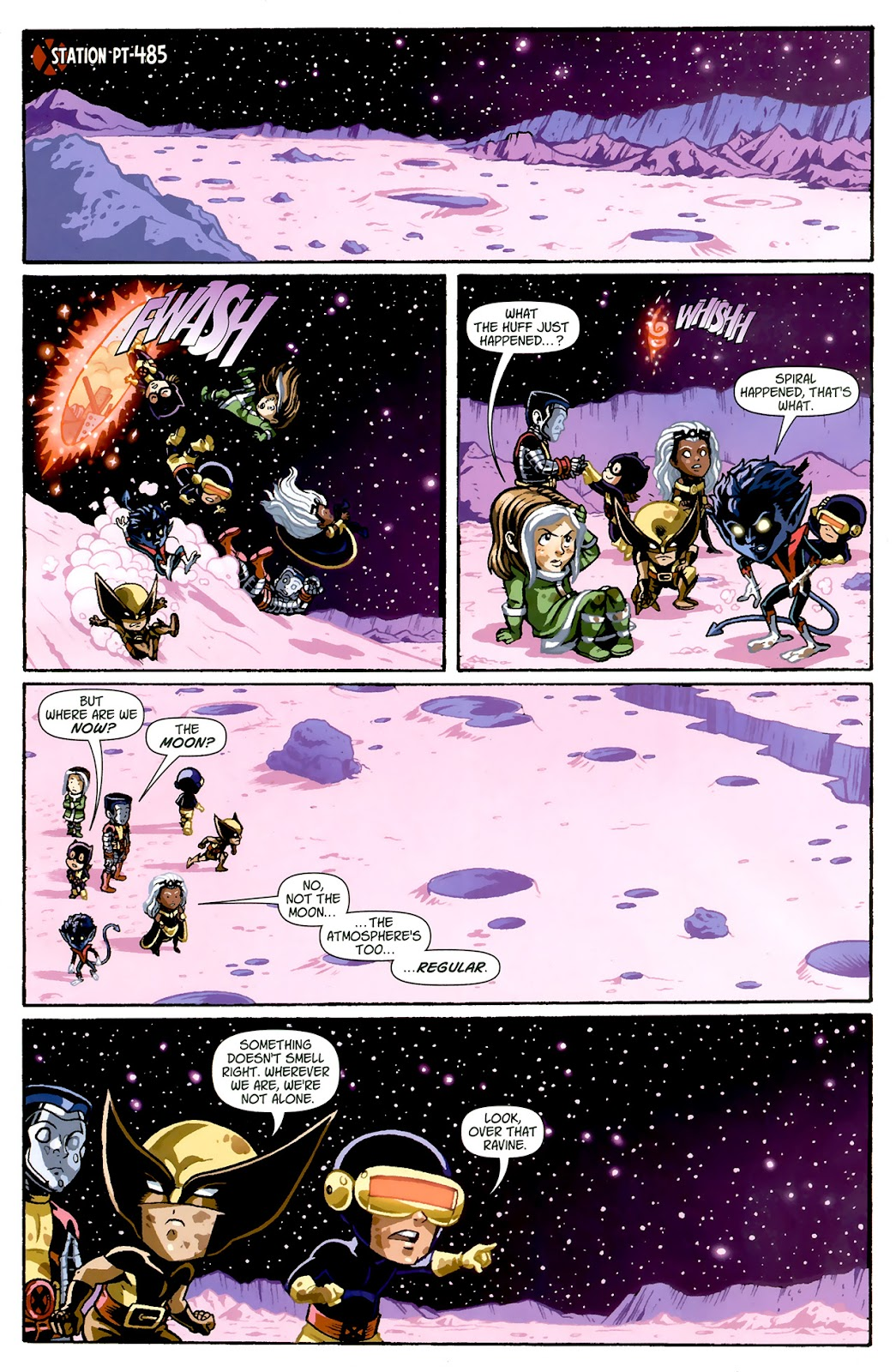 Read online X-Babies comic -  Issue #1 - 22