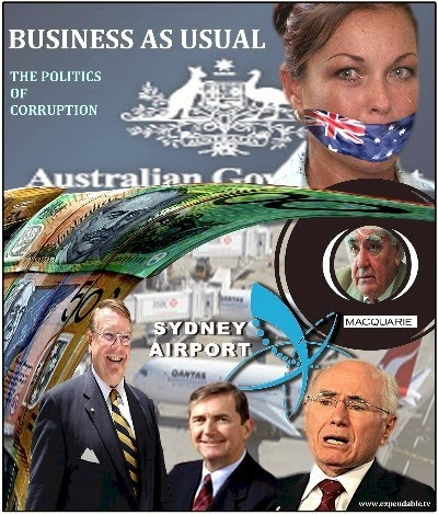 Macquarie Bank And Australian Government Corruption