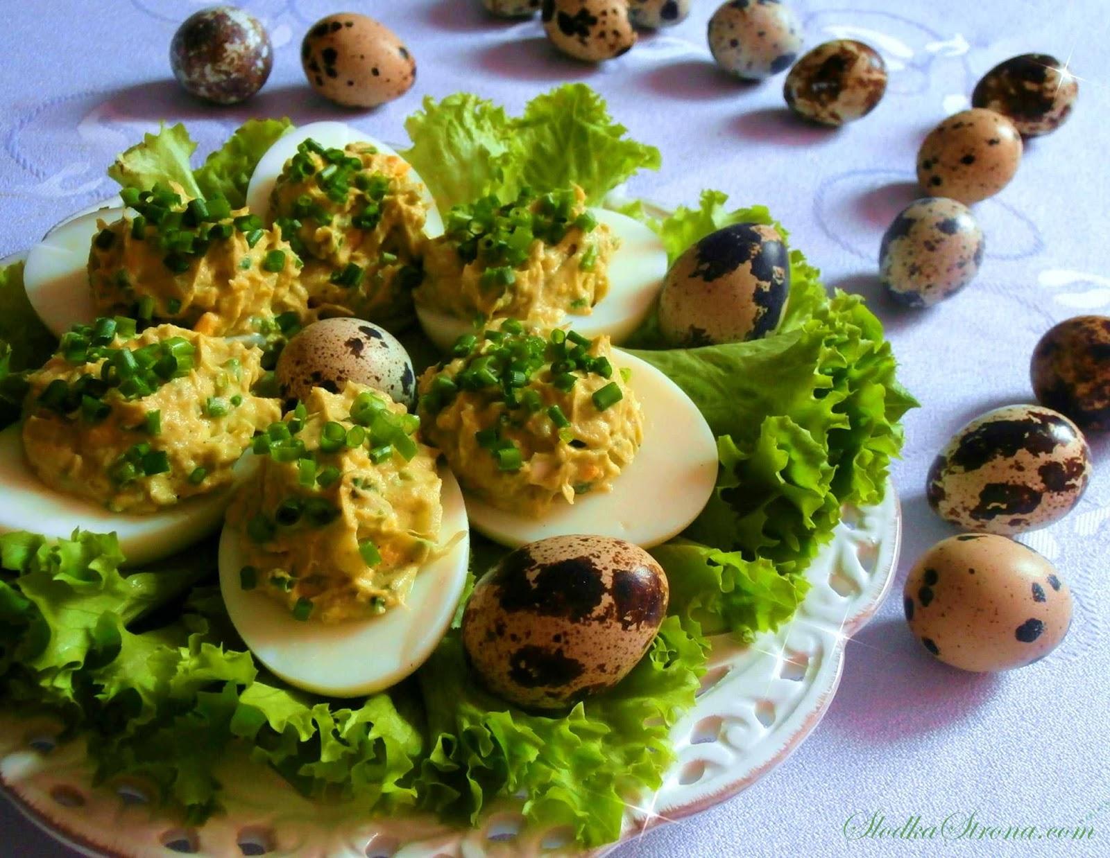 Jaja faszerowane Pastą z Awokado - Przepis - Słodka Strona
