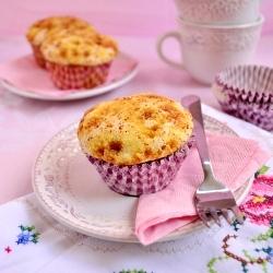 how to make muffins with vanilla custard?