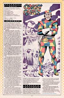 Retazo Crazy Quilt (ficha dc comics)