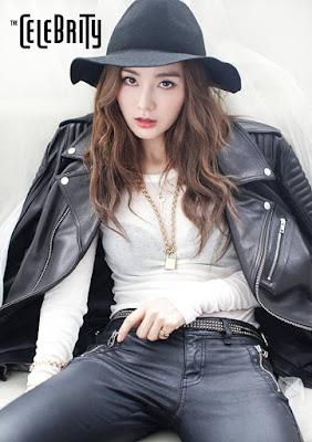 Gil Eun Hye - The Celebrity October 2015