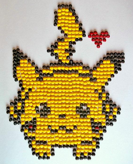 M&M Pikachu