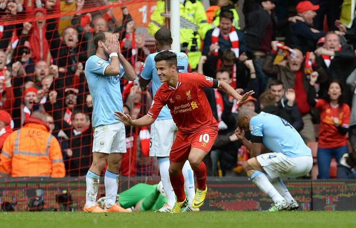 Liverpool Tumbangkan Manchester City