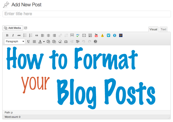 Format Posting Blog yang Baik