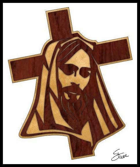 Scrollsaw Workshop Jesus And Cross Scroll Saw Pattern New Scroll Saw Cross Patterns