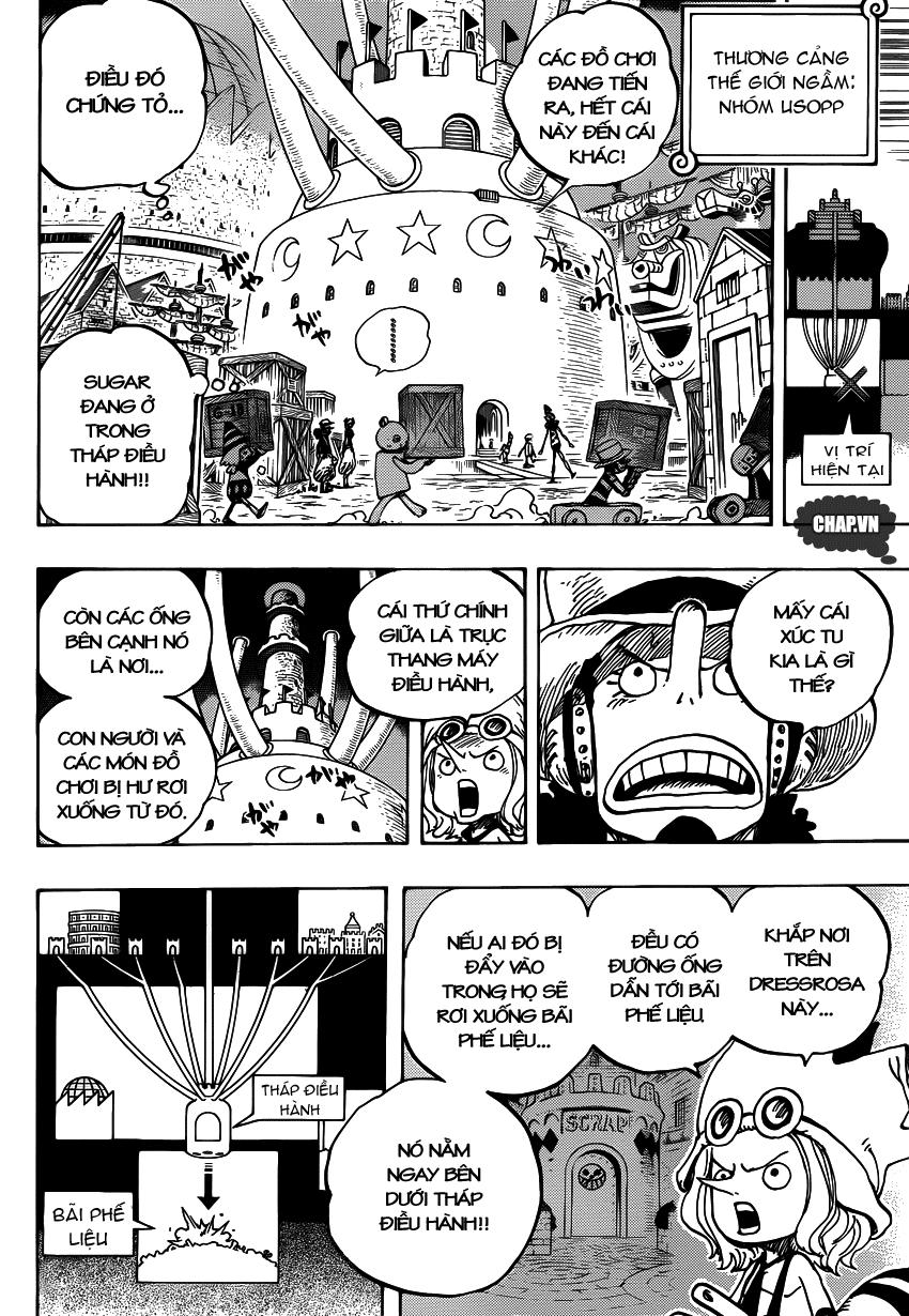 One Piece Chapter 737: Tháp điều hành 010