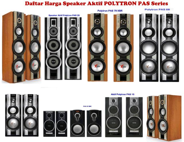 Harga Speaker Aktif Polytron Spesifikasi Model PAS