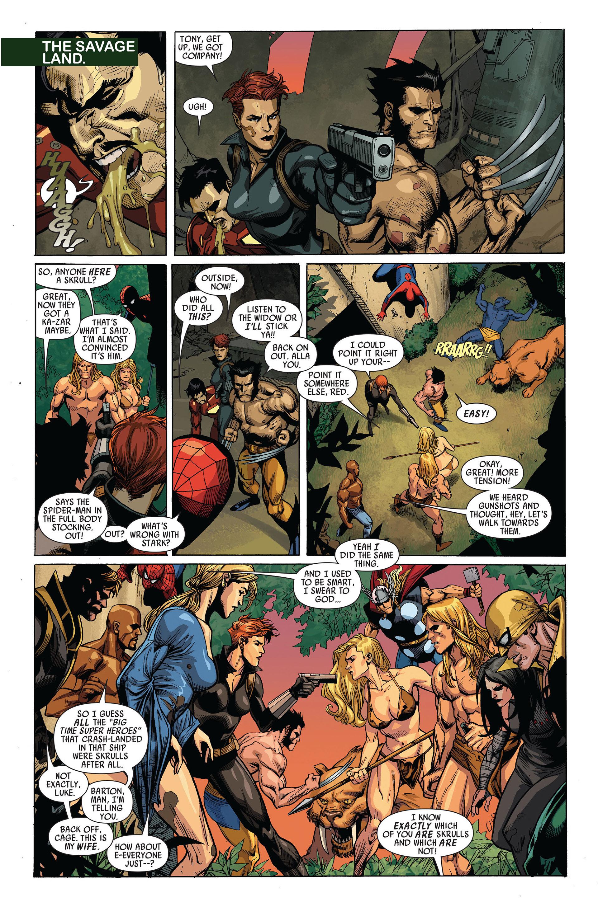 Read online Secret Invasion comic -  Issue #5 - 17
