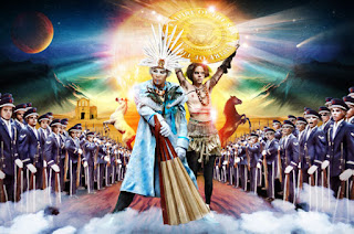 La Canción de la Semana. Empire of the sun. Walking on a Dream. Sziget Festival 2013. losfestivaleros.com