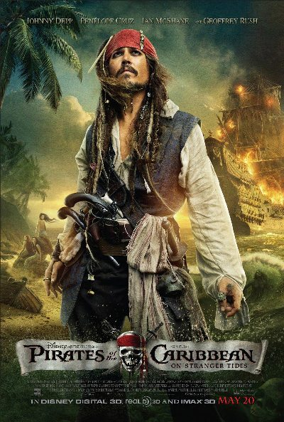 """Cướp biển Caribe 4"": Xem phim như thật, Phim, Cuop bien ca ri be 4,Pirates of the Caribbean: On Stranger Tides, cướp biển ca ri bê 4, Johnny Depp, Penélope Cruz"