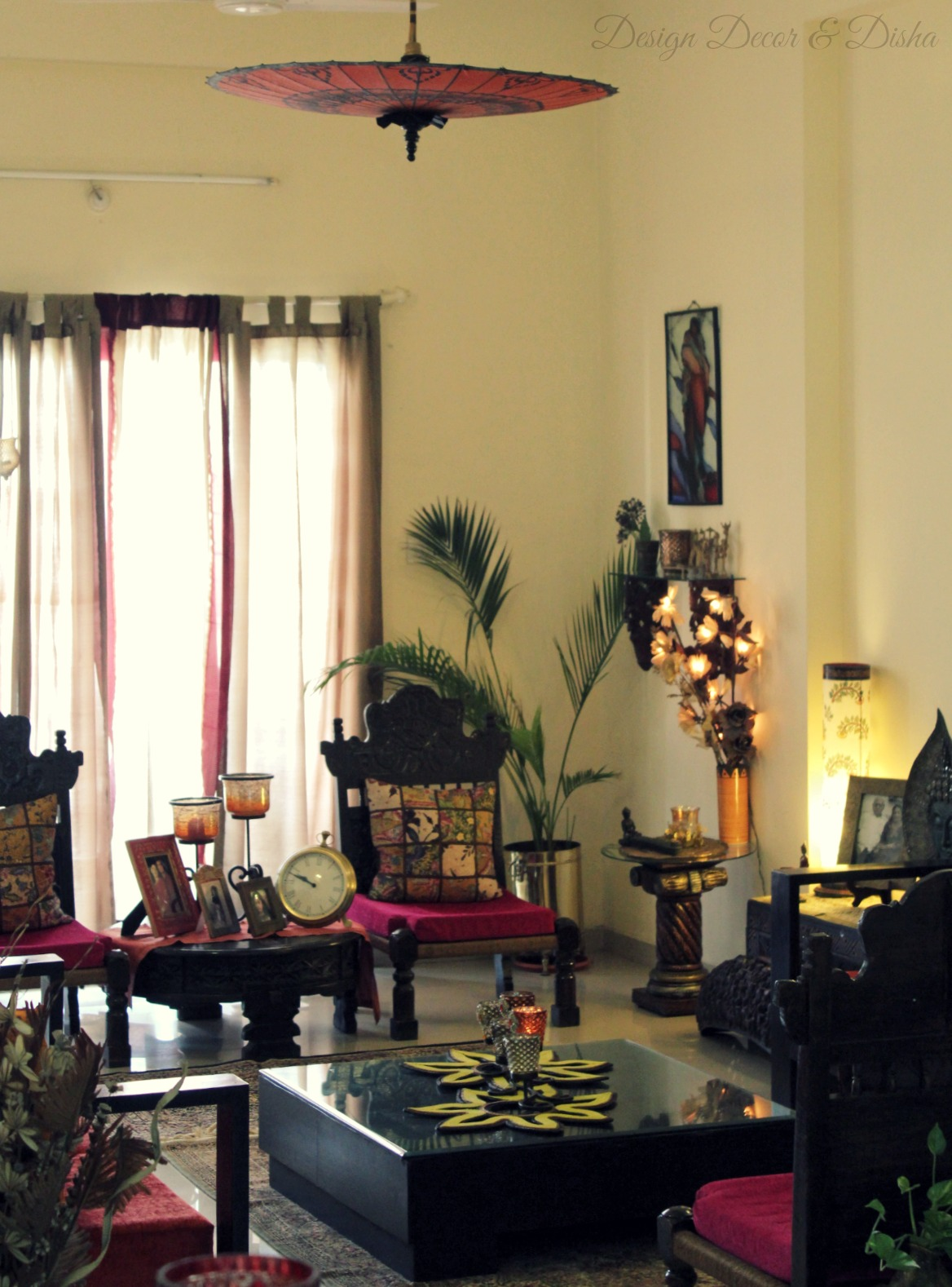 Design decor disha an indian design decor blog home tour kapila banerjee - Decorative items for home ...