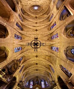 Interior de la Basílica de Sant Francesc - Mallorca