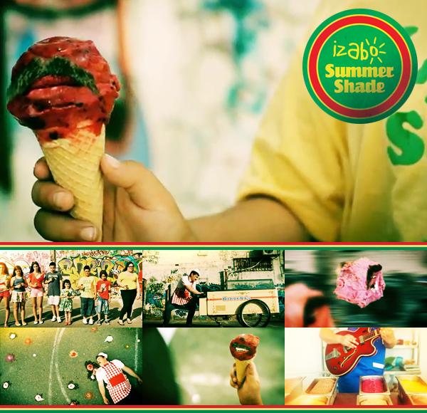 Izabo's Mustached Ice Cream Cones