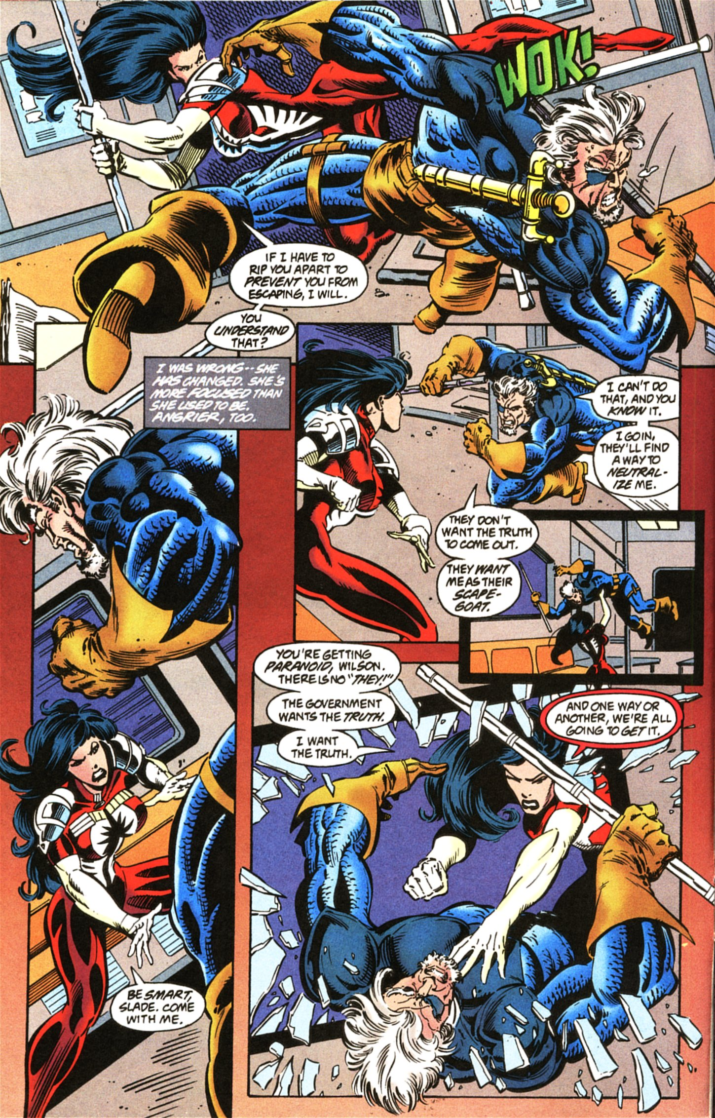Deathstroke (1991) Issue #45 #50 - English 6