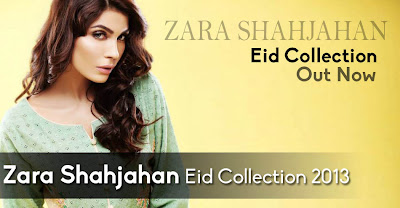 Zara Shahjahan Eid Collection 2013 Out Now