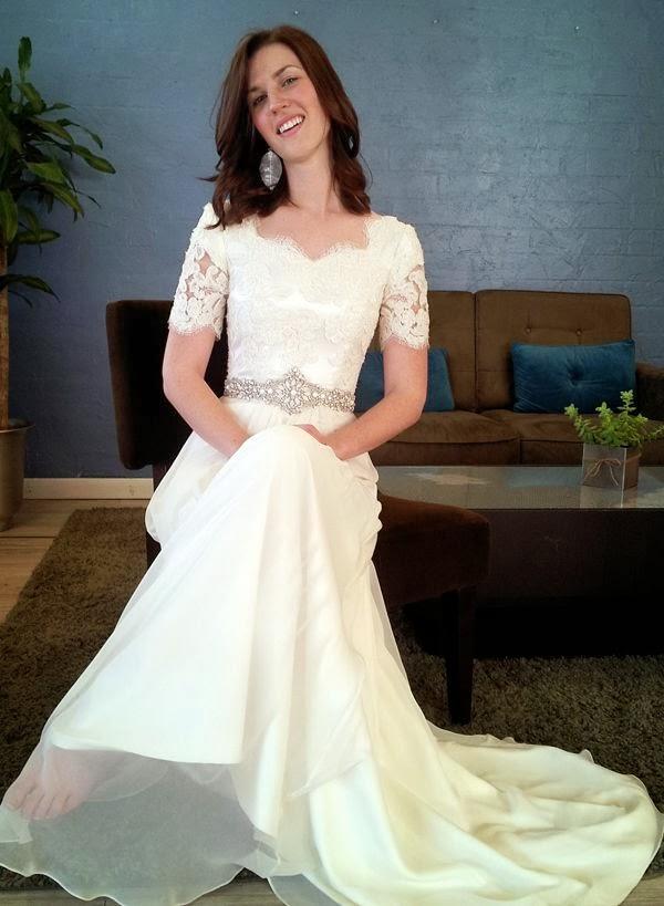 Modest Wedding Dresses Lds : Modest wedding dresses