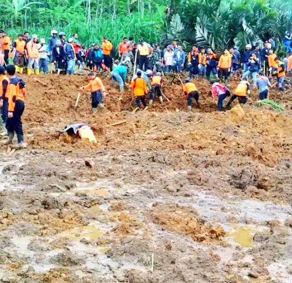 24 Tewas dan 84 Korban Longsor Banjarnegara Masih Dilakukan Pencarian