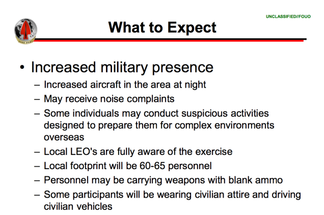 Jade helm 15 merely an innocent exercise or are the conspiracy
