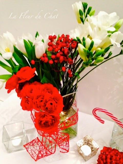 La fleur du chat idee per decorare la tavola a natale in stile moderno classico o country chic - Decorare la tavola a natale ...