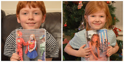 Personalised photo notebook for kids from snapfish