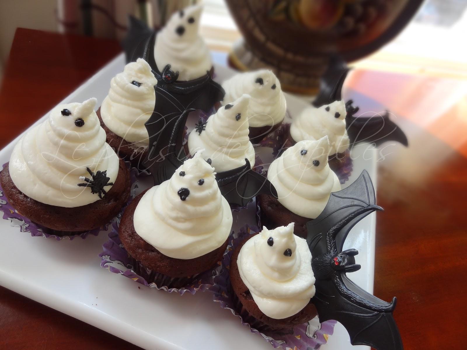 le plaisir des papilles cupcakes d 39 halloween 2. Black Bedroom Furniture Sets. Home Design Ideas
