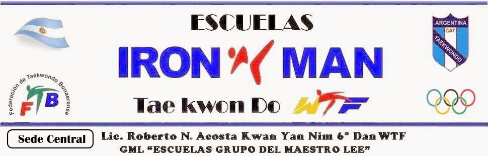 ESCUELAS IRON MAN TAEKWONDO WTF