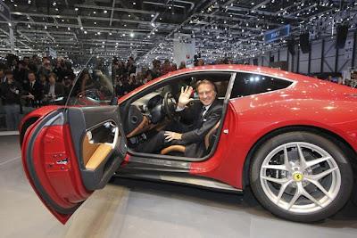 2012 new Ferrari F12 Berlinetta Geneva Auto Show