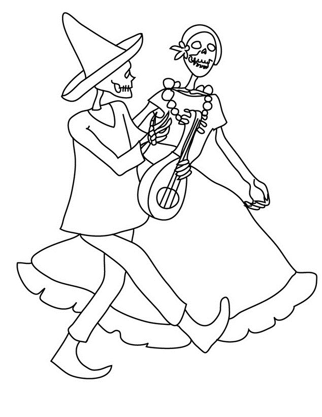 Free Coloring Pages Of Day Of The Dead Altar Day Of The Dead Altar Coloring Pages