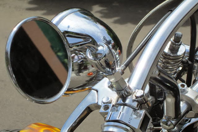 Foto Modifikasi Honda GL100 Keren Macho Terbaru 2014