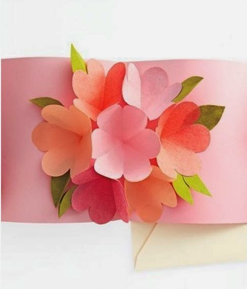 Diy 3d Flower Greeting Card The Idea King