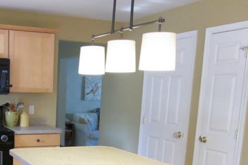 Chevron kitchen lamp shade redo diy welcometothemousehouse chevron kitchen lamp shade redo diy aloadofball Choice Image