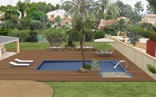 renders+piscinas Imagina tu piscina antes de tenerla terminada.