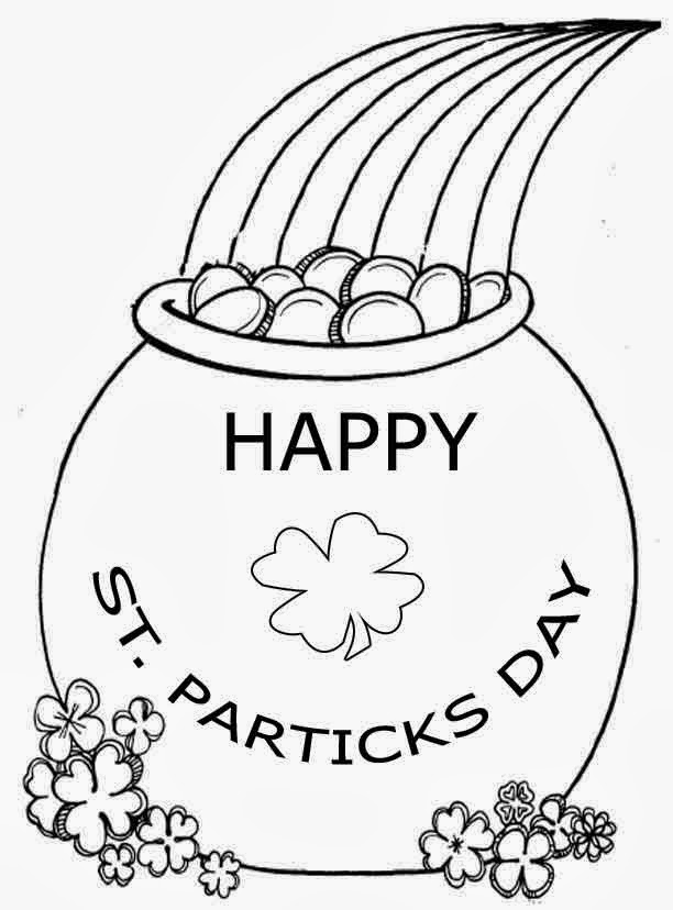 Saint Patrick's Day for Coloring, part 4